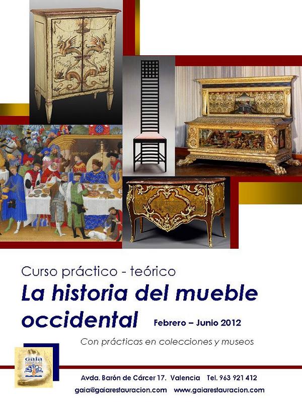 Nuevo curso de historia del mueble occidental for Historia del mueble pdf