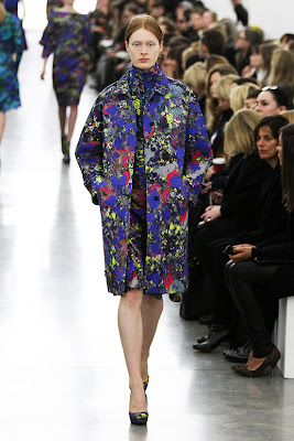 Erdem Runway and Inspiration