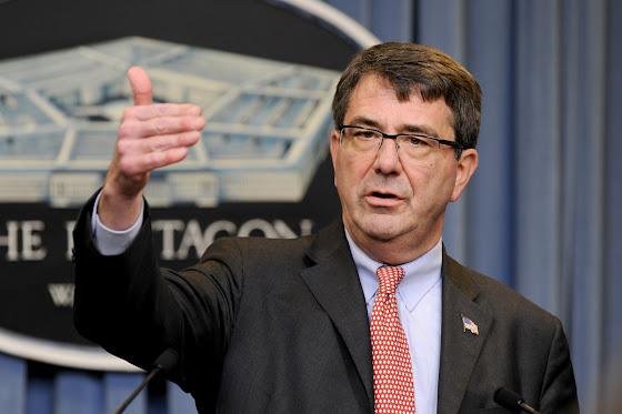 US secretary of defense Ashton Carter