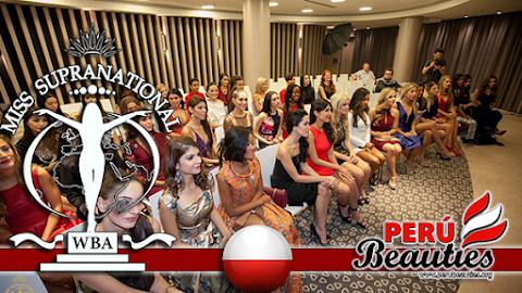 Candidatas se reúnen con personal de Miss Supranational 2015