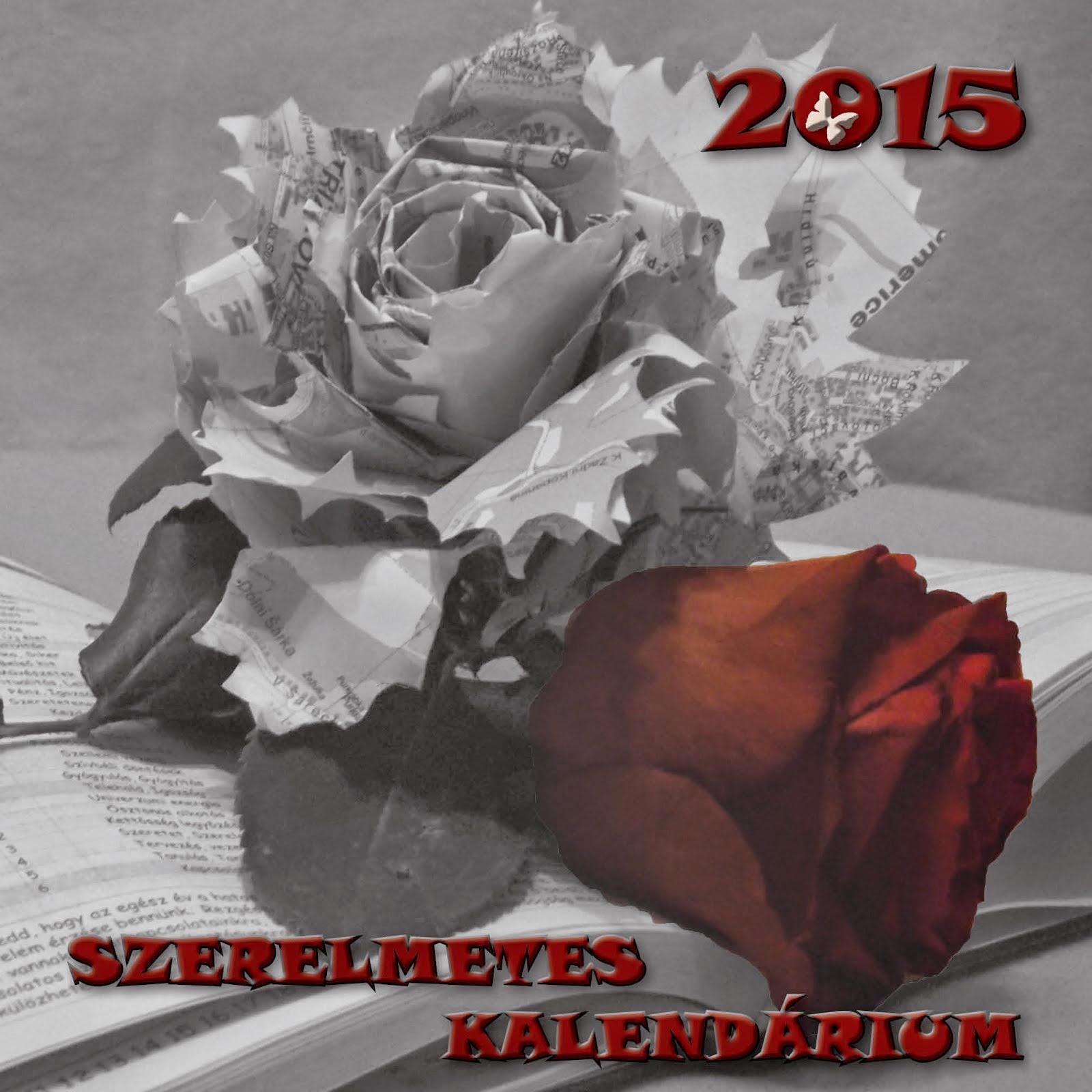 Szerelmetes Kalendárium 2015.