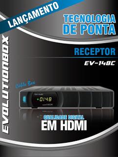 Nova Atualização para EvolutionBOX EV 148C v1.14 de 25/06/2013