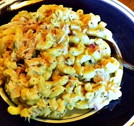 "Bill says, ""Why don't you make tuna macaroni salad like my Mom did ..."