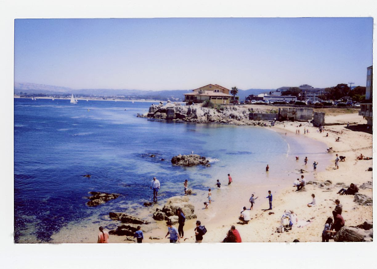 Instax 210 wide Monterey Bay
