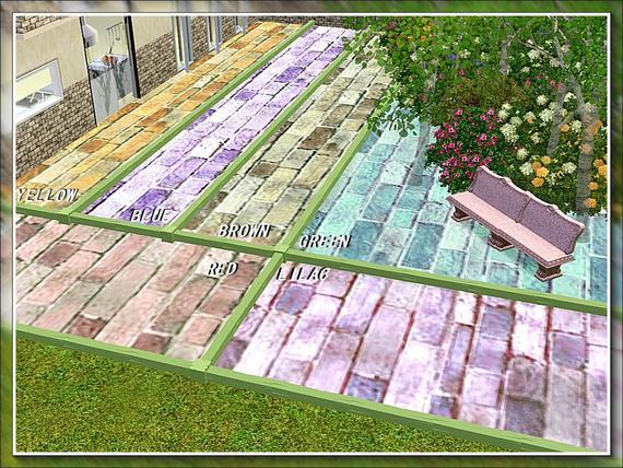 For my sims recycled brick terrain paint set - Johnstones exterior masonry paint set ...