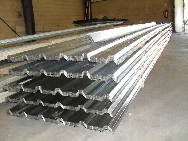 Instaladores chapa trapezoidal y panel montadores de - Precio chapa acero ...