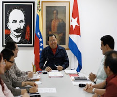 Chavez desde la Habana