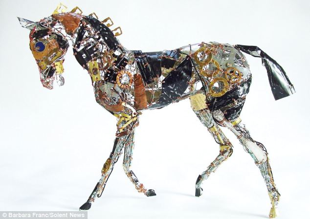 Creative art from waste priceless pic for Creative art from waste