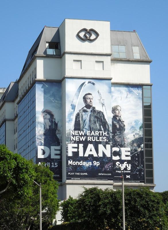 Giant Defiance series premiere billboard
