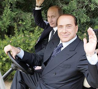 C'est une affaire qui roule entre Vladimir Putin (Vladou pour les intimes) et Berlusconi!