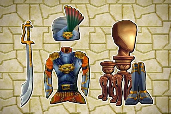 Pirate101 Unknown Tiger Gear Set