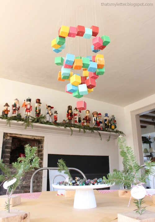 diy kids Christmas party decor