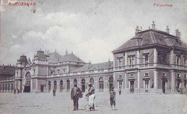 Gara din vechiul Cluj