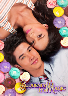 Mario Maurer and Erich Gonzales - Suddenly It's Magic Promotional Poster (in theaters this October 31)