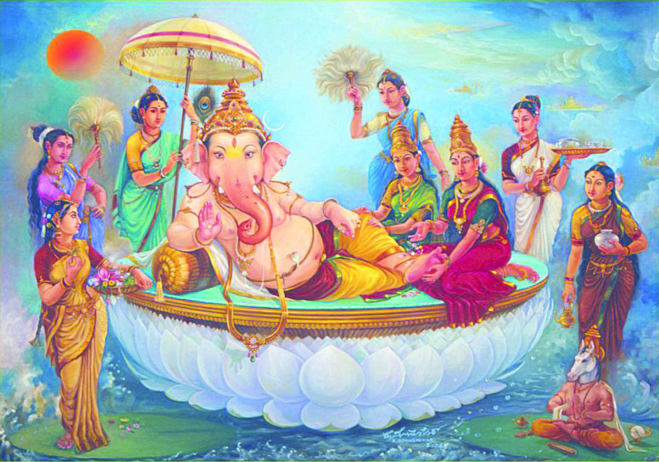 Lord Ganapathi Loka(World)