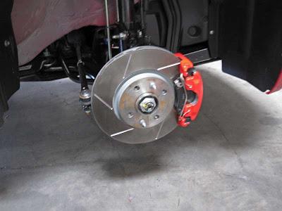 Road Race Motorsports Fiat 500 brakes