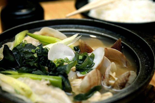 Osaka Ohsho Asari Gyoza Sukiyaki Soup