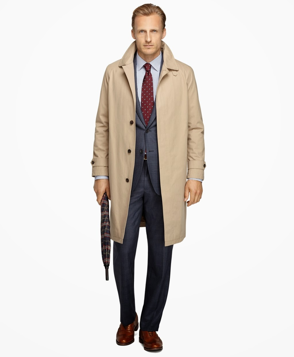 TRENCH COAT  BROOKS BROTHERS