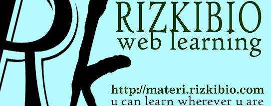 Rizkibio Web Learning