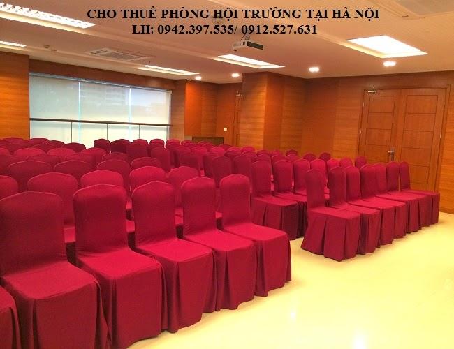 cho thue hoi truong