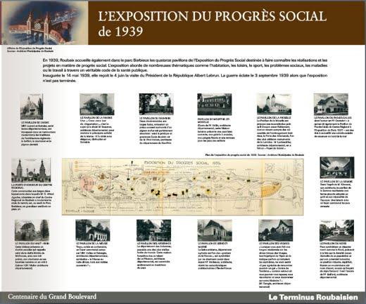 L'exposition du Progrès Social en 1939