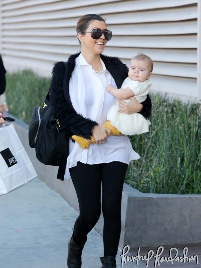 3813929088ff Daily Celebrity Style  Kourtney Kardashian out and about wearing ...