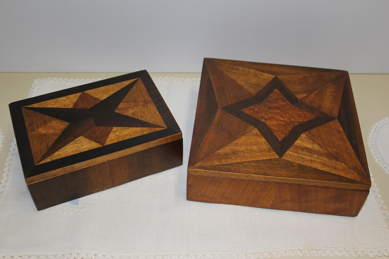 Johnnyfive Collectables Handmade Wooden Jewellery Boxes