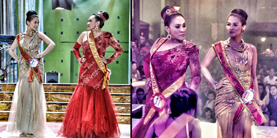 Marian Rivera and Ai Ai Delas Alas rival in a beauty contest