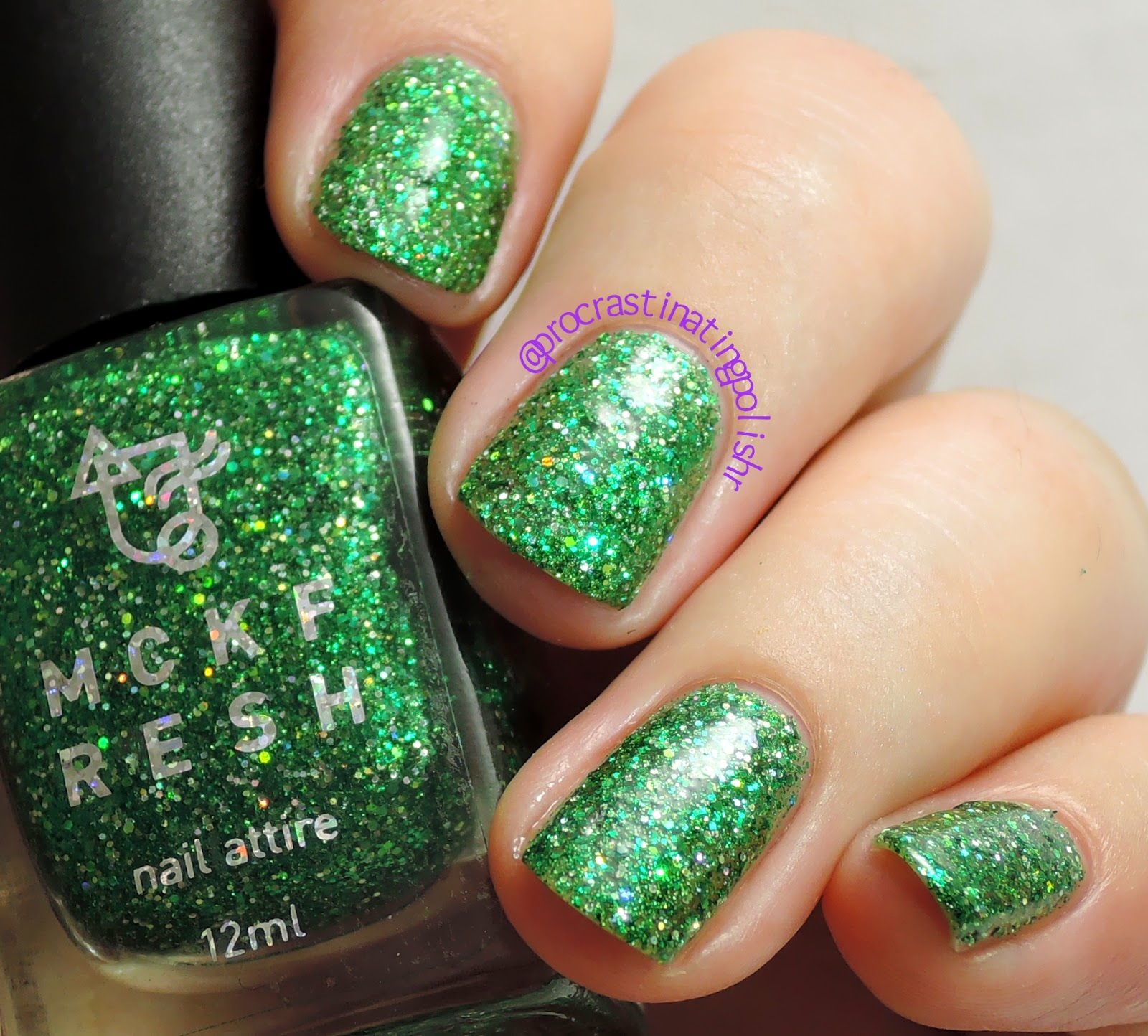 Mckfresh Nail Attire - Mother Malachite