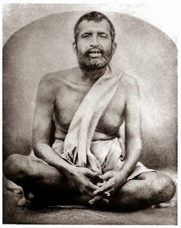 Image of Ramakrishna, sitting