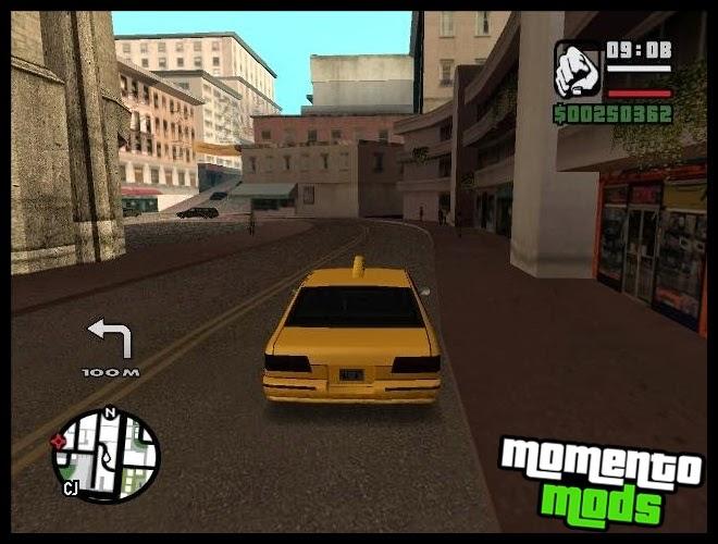 GTA SA - GPS 1.0 Mod Com Voz Em Português BR