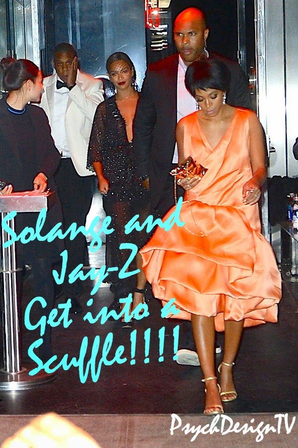 WHAAAA? Solange Gets Into a Scuffle with Jay-Z and Its All Caught On Tape!
