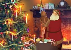 Papá Noel se está preparando...