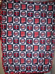 Twins Tie Blanket
