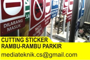 Cutting Sticker