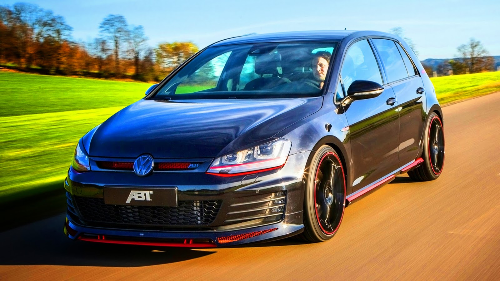 abt vs4 volkswagen golf gti dark edition 2014 aro 20 2 0 tsi turbo 300 cv 258 kmh 0 100 kmh 5 8. Black Bedroom Furniture Sets. Home Design Ideas