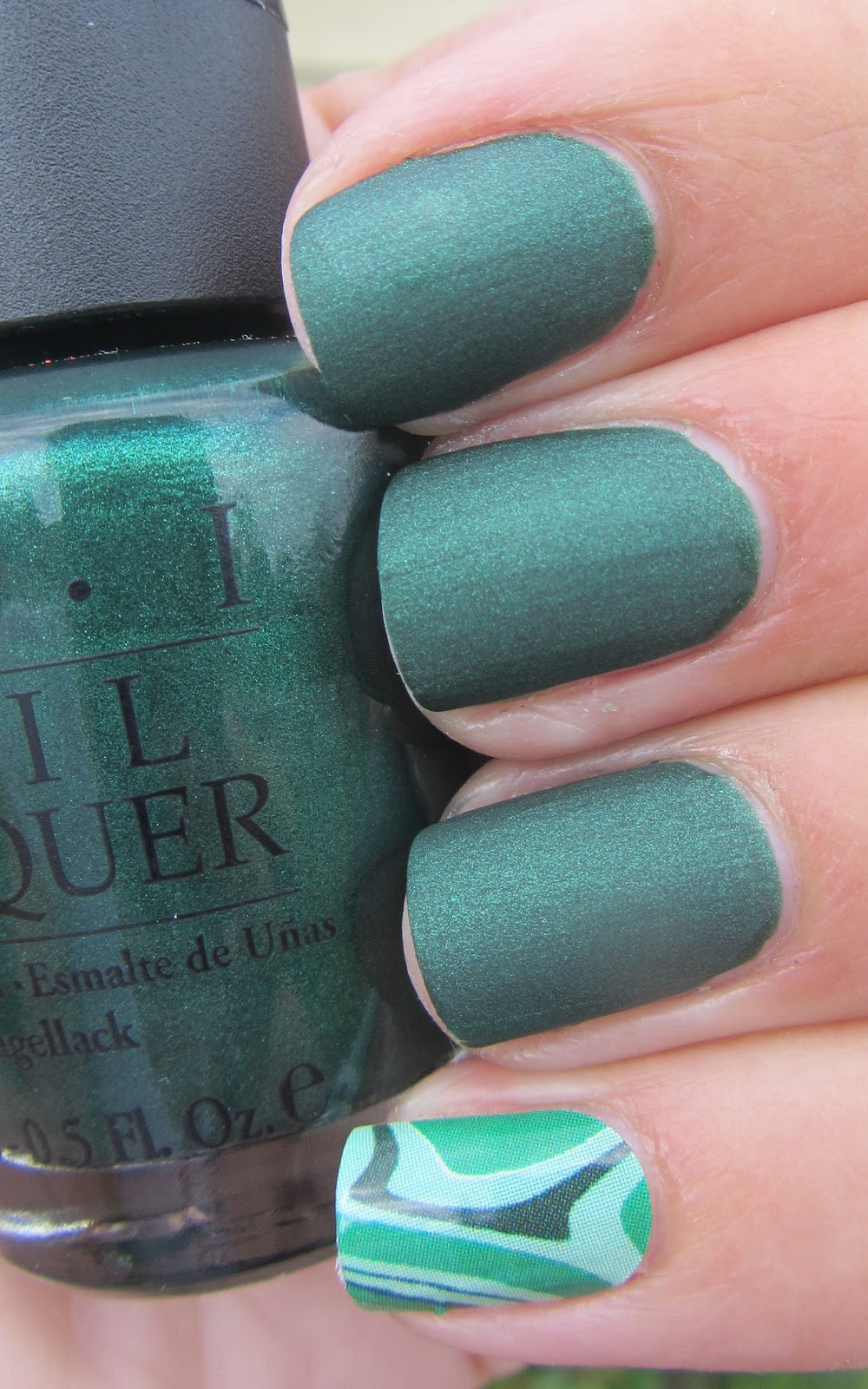 My Nail Polish Obsession: Jamberry Nails and OPI Here Today Aragon ...