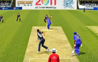 Icc cricket world cup 2011 game screenshots