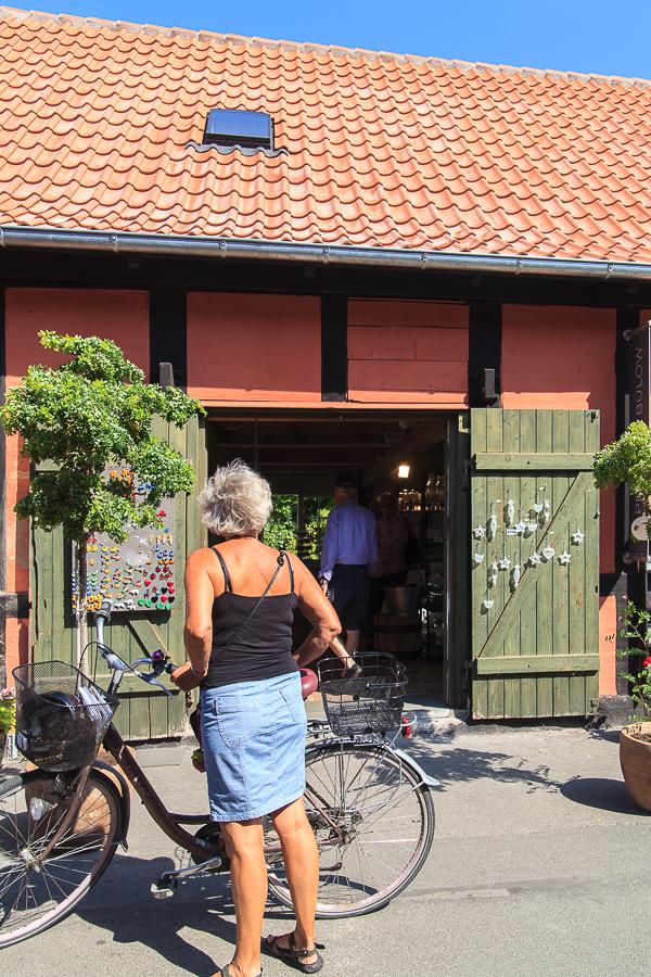 Amalie loves Denmark - Mit dem Fahrrad in Svaneke auf Bornholm