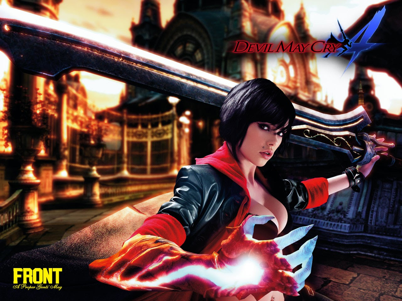gamegod: devil may cry 4 wallpapers