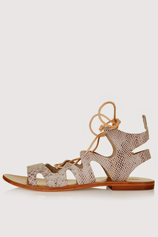 topshop lace sandals