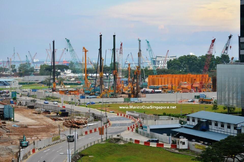 Marina One Singapore's Foundation