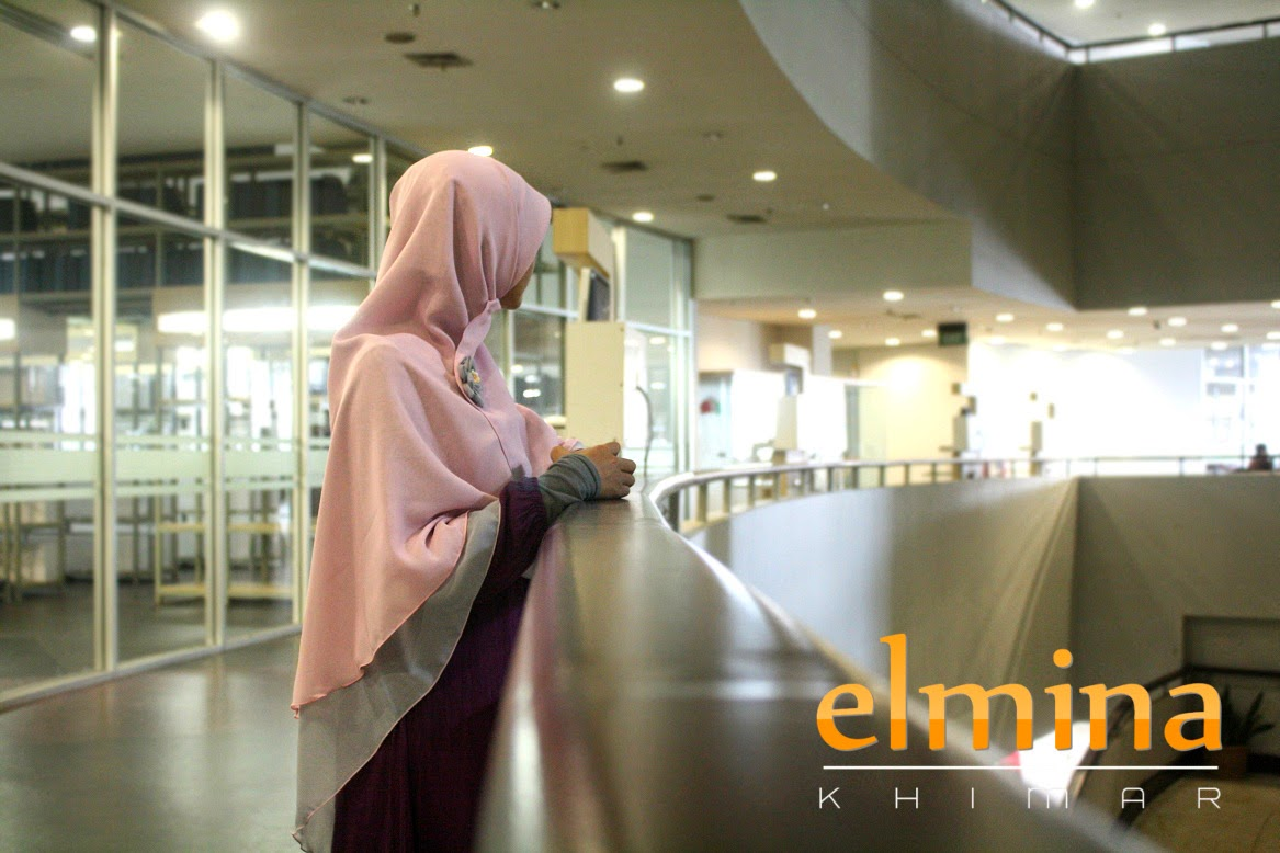 elmina khimar - zahra edition in action