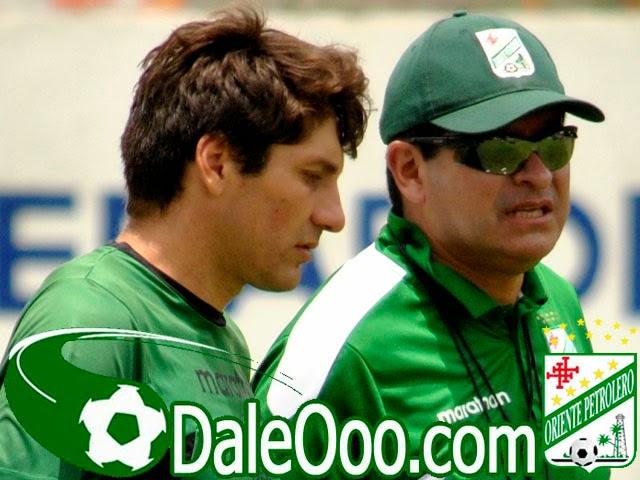 Oriente Petrolero - Ronald Raldes - Eduardo Villegas - DaleOoo.com sitio del Club Oriente Petrolero