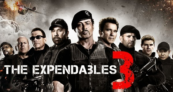 Torrent pirates leaks the Movie 'The Expendables 3' In DvdRip format 3 Weeks Ahead Of Release