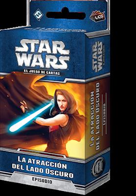 Expansión Star Wars LCG: Ciclo de Ecos de la Fuerza - La atracción del Lado Oscuro