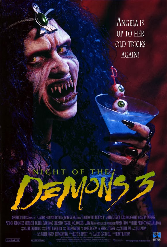 Ryans Movie Reviews: Night of the Demons 3 Review