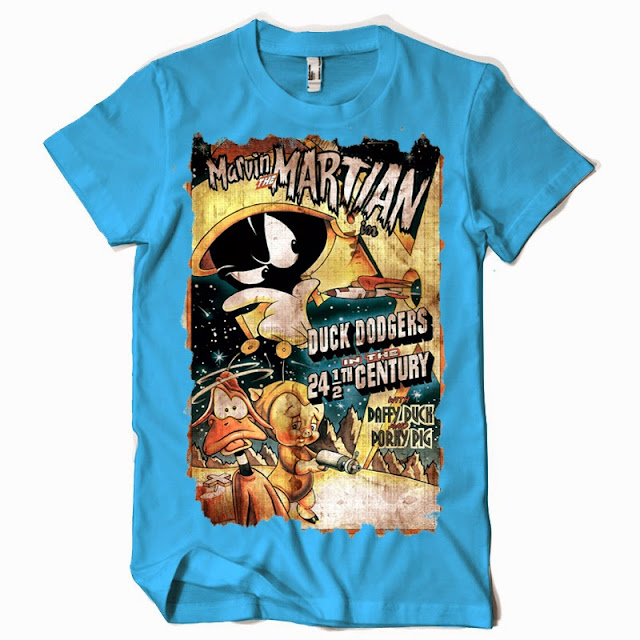 duck dodgers tshirts