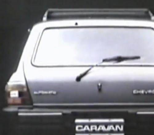 Propaganda do Chevrolet Caravan produzida e veiculada em 1986.