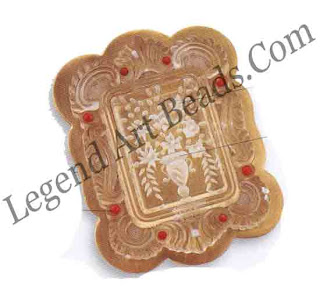Lucite Pin